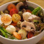 【地中海式ダイエットレシピ】真夏のパワーサラダ